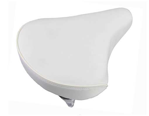 Beach Cruisers Saddle 209 White.