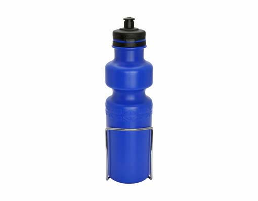 Water Bottle W/Cage Large Blue.