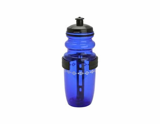 Water Bottle W/Cage Small Blue.