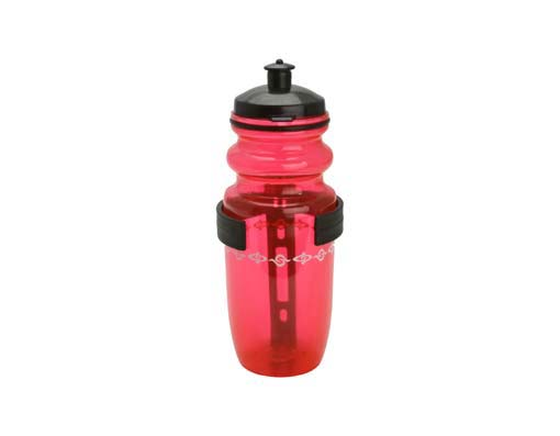 Water Bottle W/Cage Small Red.