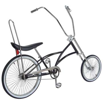 "CHOPPER BIKE 20""/26"" 515-6 BLACK"