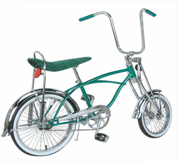 "20"" Green Krate Style Bike - Click Image to Close"