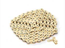 CHAIN 1/2X1/8X112 ALL/GOLD