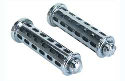 GRIPS BLOCK BLACK/CHROME 9808 EAGLE