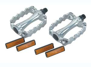 468 ALLOY PEDAL CHROME