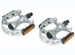 747 ALLOY PEDAL CHROME
