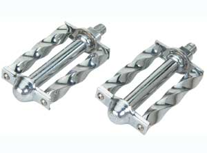 "SQUARE TWISTED PEDAL 1/2"" CHROME"