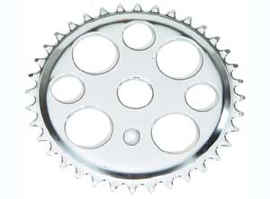 LUCKY 7 SPROCKET 36T CHROME