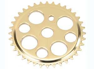 LUCKY 7 SPROCKET 36T GOLD