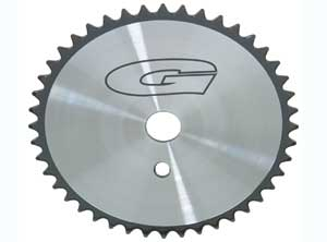 SPROCKET G 44T CHROME/BLACK