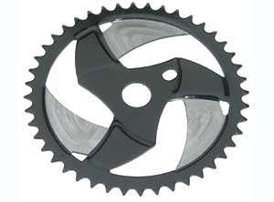 SPROCKET BOOMRANG HA-28 44T CHROME/BLACK