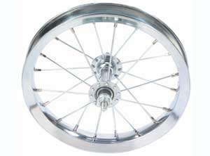 "12 1/2"" X 2 1/4"" STEEL CHOPPER FRONT WHEEL"