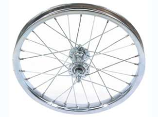 "16"" X 1.75"" STEEL FRONT CHOPPER WHEEL"