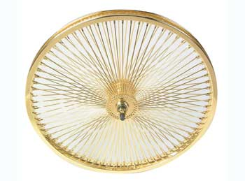 "20"" 144 SPOKE COASTER WHEEL 80G GOLD"